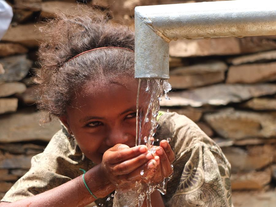 Wells provide clean and reliable domestic water supply